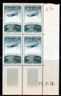 Maroc PA 1950 Yvert 74 ** TB Coin Date - Airmail