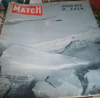 Paris - Match , N° 406 , Samedi 19 Janvier 1957 , Mont Blanc ,Eden, Guerre D'Algérie - Unclassified