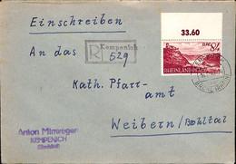 Allemagne Zone Française  1948   Lettre De Kempenich   (G0321) - Franse Zone