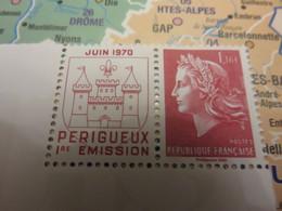 Livret 50 Ans : Timbre  Marianne De Cheffer 2020  50 Ans Imprimerie Périgueux - 1967-70 Maríanne De Cheffer