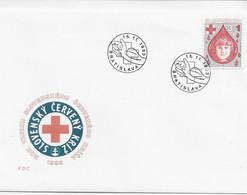 3572 FDC Slovensko Bratislava 1993,Cruz  Roja, Červený Kríž - Cartas