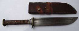 ANCIEN COUTEAU DAGUE GLAIVE ORIGINE INCONNU - Knives/Swords