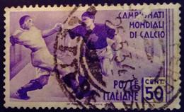 Italie Italy Italia 1934 Sport Football Soccer Calcio Yvert 341 O Used Usato - Gebraucht