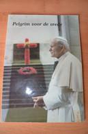 1985  - Pausbezoek Aan Ieper - Pelgrim Voor De Vrede - Ieper