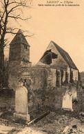SALIGNY    L Eglise    Carte Vendue Au Profit De L A Restauration - Other Municipalities