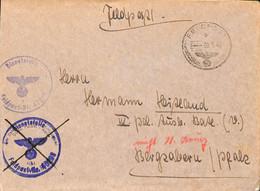 09.7.1943    Feldpost   40206   (G0359) - Brieven En Documenten