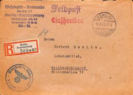 15.9.1943   Feldpost   Berlin III    (G0370) - Brieven En Documenten