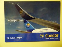 AIRLINE ISSUE / CARTE COMPAGNIE    CONDOR - 1946-....: Modern Era