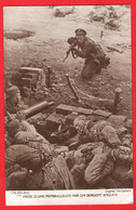 WORLD WAR ONE    AN ENGLISH SOLDIER TAKING A GERMAN MACHINE GUN NEST    SPHERE MAGAZINE - Guerra 1914-18