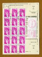 "JOIGNY  (89) : "" Type SABINE N° 1978 Sur ORDRE DE REEXPEDITION "" 1982 - 1961-...."