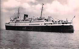 FERRIES Ferry-boat - Le FALAISE à DINARD ( Ligne St MALO à SOUTHAMPTON (UK) CPSM PF - Fährschiff Veerboot Transbordador - Fähren