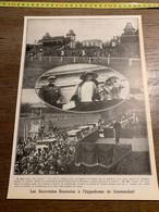 1927 PATI SOUVERAINS ROI FERDINAND REINE MARIE ROUMANIE BRUXELLES ROUMAINS HIPPODROME GROENENDAEL - Non Classificati