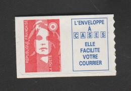 FRANCE / 1994 / Y&T N° 2874b ** Ou AA 7b ** : Briat TVP LP Dents Scie + Vignette Caractères Gras X 1 - Luchtpost