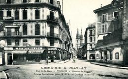 VOIRON  =  Librairie A CHOLAT    1996 - Voiron