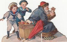 Fêtes - Découpi Noël - Enfants - Père Noël - Cadeaux - Jouets - Parapluie - Other