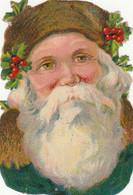 Fêtes - Découpi Père Noël - Houx - Other
