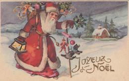 Fêtes - Carte De Noël - Père Noël - Lanterne - Cadeaux - Jouets - Peluche - Marionnette - Other