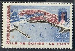 SENEGAL - Ile De Gorée, Le Port - Y&T N° 284 - MNH - 1966-67 - Senegal (1960-...)