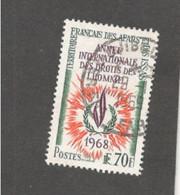 AFARS&ISSAS    1968:Yvert 341used - Oblitérés