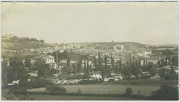 Meximieux (Ain) Vu De Péage. 1895. - Antiche (ante 1900)