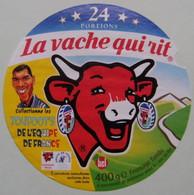 """Etiquette Fromage Fondu - Vache Qui Rit - 24 Portions Bel Pub """"F.F.F Toufoot's Et Zidane""""  A Voir ! - Quesos"""