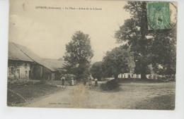 GIVRON - La Place - Arbre De La Liberté - Otros Municipios