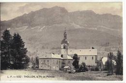 CPA  THOLLON  Le Pic De Mémise  N° 1532 - Thollon