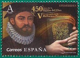 España. Spain. 2019. 450 Años Biblia Del Oso. V Centenario De La Reforma Protestante - 2011-... Ungebraucht