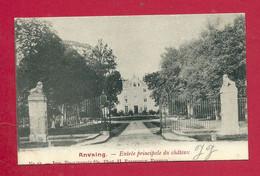 C.P. Anvaing =  Entrée  Principale  Du  CHÂTEAU - Frasnes-lez-Anvaing