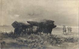 CPA Bretagne Carte Photographie Des Vallées Dolmen De Goulern - Otros Municipios