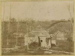 L'Orne à Grimbosq (Calvados). Moulin à Eau. Tirage Citrate Circa 1900. - Antiche (ante 1900)