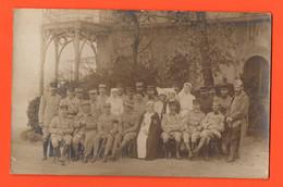 SAINT LUNAIRE Carte Photo - Hopital Temporaire 1917 - Saint-Lunaire