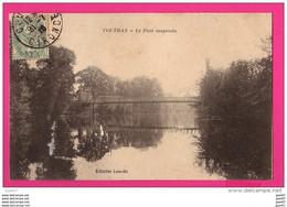 CPA (Réf : (PA105) COUTRAS (33 GIRONDE) Le Pont Suspendu - Altri Comuni
