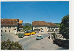 Suisse - Canton De Vaud - Mathod  Bus Postal Remorque  Voiture Citroen DS, Cpm - VD Vaud