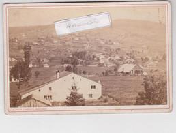 PHOTO - 88 - GERARDMER - Les Xettes (site Des Vosges)  Par A.D. BRAUN Photographe à Dornach Vers 1880 1900 - Antiche (ante 1900)
