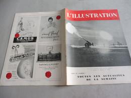 L'ILLUSTRATION 23 JANVIER 1943-Maison Rurale Chevalon,Manufacture Allumettes Angers-Georges Scott-Tunisie-t - L'Illustration
