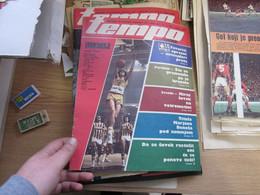 Tempo Nedeljni Ilustrovani Sportski List 35 Pages - Scandinavian Languages