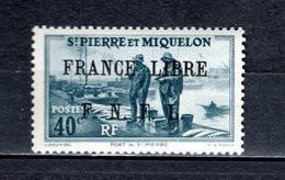 SAINT PIERRE ET MIQUELON N° 255 NEUF SANS CHARNIERE COTE  36.00€  PORT - Neufs