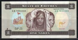 Erythrée 1 Nakfa 1997 Neuf UNC - Eritrea