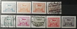 Pologne 1925 / Yvert Poste Aérienne N°1-9 / * Et Used - Unused Stamps