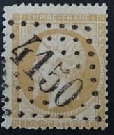 21 (cote 10 €) Variété Filets Asbents, Obl GC 4150 Verneuil-sur-avre (26 Eure ) Ind 3 ; Frappe Très Nette Et TB Centrée - 1849-1876: Classic Period