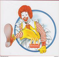 Ronald McDonald Mascot McDonalds McDonald's Clown Sticker Adesivo Aufkleber Autocollant - McDonald's