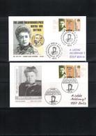 Germany / Deutschland 2005 Nobel Prize Bertha Von Suttner Interesting Letters - Premio Nobel