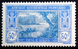 COTE D'IVOIRE                    N° 68 A                 NEUF**     (gomme Tropicale) - Unused Stamps