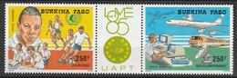 BURKINA FASO - PA N°310A ** (1985) Philexafrique III - Burkina Faso (1984-...)