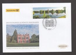 A 144 )  Deutschland 2018 Schöner Luxus Erstagsbrief FDC - Gartenreich Dessau-Wörlitz - FDC: Covers