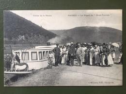 """Vallée De La Meuse -GIVET : Le Départ  Du """"  Givet Touriste"""" - Givet"""