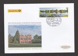 A 144 )  Deutschland 2018 Schöner Luxus Erstagsbrief FDC Skl - Gartenreich Dessau-Wörlitz - FDC: Covers
