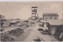 CPA   Noyant La Gravoyère (49) Mines Ardoisières Chevalet  Postes De Travail   LV Phot  Rare - Andere Gemeenten