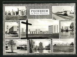 AK Puchheim, Gebäudeansicht, Eisenbahn, Ortspartie - Sin Clasificación